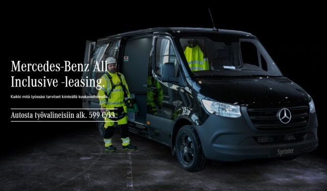 Mercedes-Benz All Inclusive -leasing